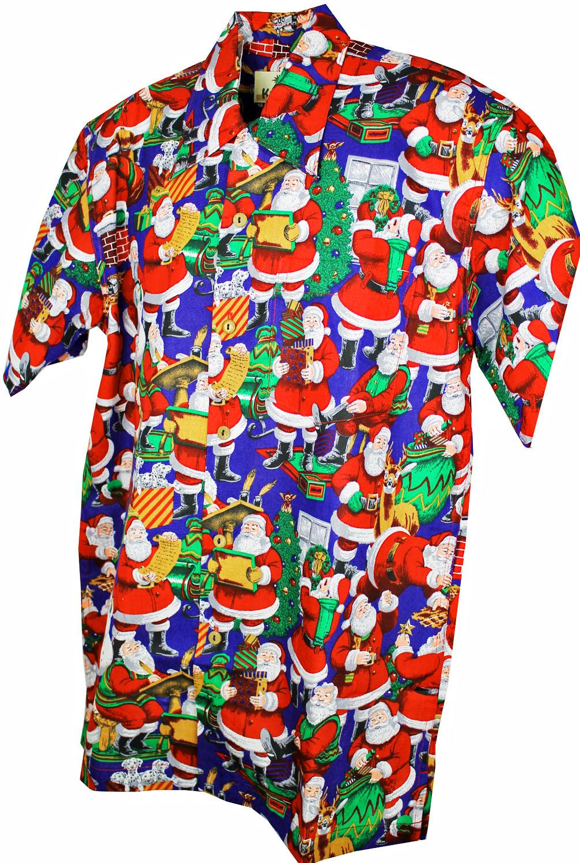 santas gifts ss hawaiian shirt - Christmas In Hawaiian