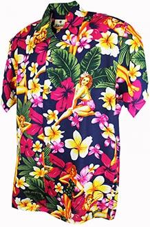 32ff8916f Hawaiian Shirt Palma Grey · £29.95 · PinUp Blue