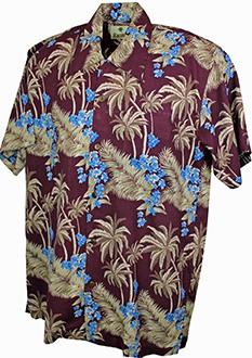 fa060401a Hawaiian Shirt Bondi Burgundy · £29.95 · Nevada Black